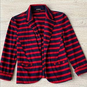 EXPRESS Size XS Striped Blazer ❤️